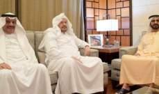 حاكم دبي ورئيس مجلس الشورى السعودي شددا على تطوير العلاقات الثنائية الراسخة