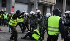 وسائل إعلام فرنسية: ارتفاع عدد الموقوفين في باريس إلى 183 شخصاً