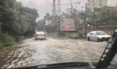 الطريق البحرية في الكسليك مقطوعة بسبب تكوّن برك المياه