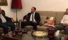 سعد التقى محافظ الجنوب وبحثا الاوضاع العامة في لبنان