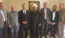 شريفة التقى وفدا عراقيا: تأكيد على ضرورة حماية الآثار والتراث بالعراق