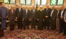 سليمان زار دريان: لنضع على الطاولة أولوياتنا ونحدد ماذا يريد لبنان
