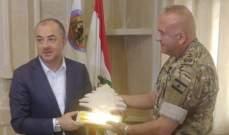 وزير الدفاع إجتمع مع ضباط فوج حماية الحدود البرية في راس بعلبك