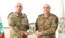 قائد الجيش ترأس حفل تكريم اللواء الركن سمير الحاج لمناسبة إحالته على التقاعد