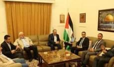 السفير دبور يلتقي الأمين العام للاتحاد العام للمعلمين الفلسطينيين
