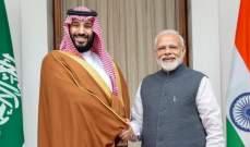 رئيس وزراء الهند: اتفقنا مع السعودية على تعزيز العلاقات الدفاعية بين البلدين