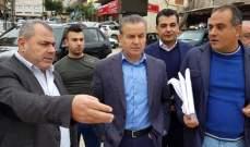 درغام : لمعالجة أزمة السير وواقع مدينة حلبا قبل الأعياد