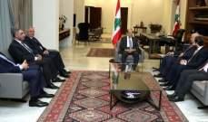 مصادر قصر بعبدا للشرق الأوسط: موقف اللقاء التشاوري بعد لقاء عون أثّر سلبا على الاندفاعة الحكومية