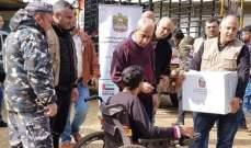 اللواء خير أشرف على توزيع مساعدات إماراتية في عكار