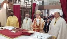 درويش احتفل بعيد القديس يوسف: نريد أن يكون ليسوع الأولوية في حياتنا