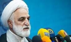 مسؤول ايراني: مرتكبو جريمة اهواز يحظون بدعم ادعياء الدفاع عن حقوق الانسان