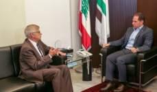 الجميل بحث مع زاسبكين الأوضاع العامة في لبنان والمنطقة