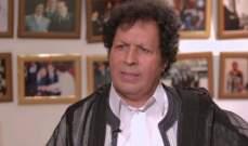 أحمد قذاف الدم القذافي: أنصار القذافي سيشاركون في مؤتمر تونس