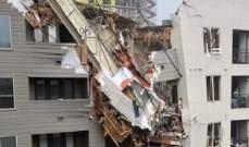 قتيل و6 مصابين بانهيار رافعة على مبنى سكني في تكساس