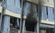الدفاع المدني: إخماد حريق داخل شاليه في ساحل علما