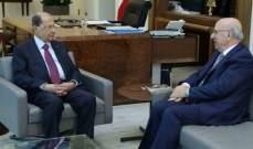 الرئيس عون كرّم العائلة الأكبر في بلدة دبل واستقبل قرطباوي وخوري