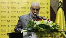 حسين زعيتر دعا لعدم الإنجرار خلف الشعارات الطائفية خلال الفترة الإنتخابية