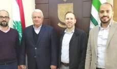 قمر الدين عرض مشاريع إنمائية مع برنامج الأمم المتحدة والوكالة الأميركية للتنمية