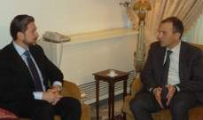 OTV: اجتماع بين باسيل وكرامي في مجلس النواب