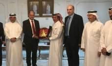 اللقيس يعلن من الدوحة فتح الاسواق القطرية أمام الانتاج الزراعي اللبناني