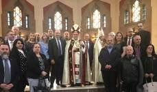 بو عاصي التقى راعي أبرشية مار مارون في مونتريال خلال زيارته الى كندا