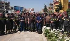 اعتصام لمتطوعي الدفاع المدني ببعلبك احتجاجا على عدم تثبيتهم رغم إقرار 3 مراسيم