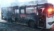 لجنة الطوارئ في كازاخستان: مقتل 52 شخصا باحتراق حافلة غربي كازاخستان