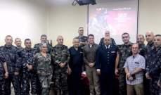 فوج اطفاء مدينة بيروت تلقى هبةً مقدمة من الجيش الأميركي