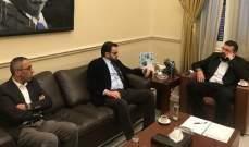 """أحمد الحريري التقى بسيسو وأكد دعم """"المستقبل"""" للقضية الفلسطينية"""