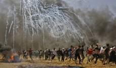 الصحة الفلسطينية: إصابة 8 فلسطينيين برصاص الجيش الإسرائيلي شرق غزة