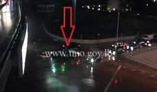 التحكم المروري: تصادم بين مركبتين على تقاطع المكلس - سن الفيل والاضرار مادية