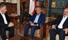 دبور قدّر حرص برّي على إنهاء الانقسام الفلسطيني