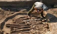 العثور على قطع أثرية من العصر البرونزي في روسيا
