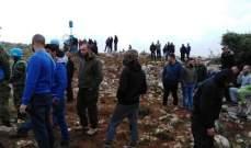النشرة: إنتشار للجيش الاسرائيلي عند تلة الشراقي في خراج بلدة ميس الجبل
