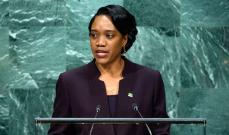 وزيرة خارجية دومينيكا فرانسين براون تناشد العالم الحفاظ على البيئة: الدومينيكيون من أصل لبناني هم كبار تجار بلادنا