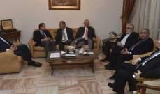الجديد: لقاء بين اللقاء التشاوري وحسين الخليل في دارة مراد