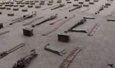 سانا: الجيش السوري عثر على أسلحة وذخائر من مخلفات داعش بريف دير الزور