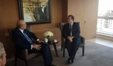 ميقاتي التقى سفير فرنسا: يجب ان لا تبقى الطائفة السنية غائبة عن الحكم
