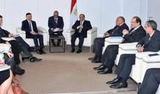 السيسي التقى شاريتس وأكد حرص مصر على تعزيز التعاون مع أوكرانيا بشتى المجالات