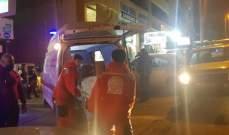 النشرة: جريح نتيجة حادث صدم على طريق عام الهلالية شرق مدينة صيدا