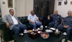 سعد استعرض الأوضاع المعيشية والأمنية مع محافظ الجنوب والعميد  شمس الدين