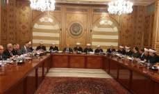 المجلس الاسلامي الأعلى: لمناقشة البيان الوزاري بسرعة  والبدء بالعمل