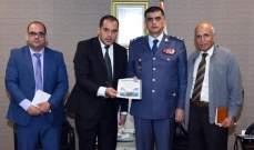 """اللواء عثمان أكد أمام وفد من """"شاهد"""" التزام قوى الأمن بمبادئ احترام حقوق الإنسان"""