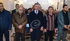 قداديس عيد الفصح تعم مدينة النبطية والكلمات دانت الارهاب