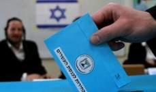 إغلاق صناديق الاقتراع في الانتخابات البرلمانية الإسرائيلية
