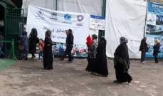 """جمعية """"شيلد"""" باشرت بإحصاء النازحين السورين بالجنوب لتقديم مساعدات لهم"""