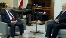 الرئيس عون استقبل مخزومي واجرى معه جولة افق تناولت التطورات السياسية