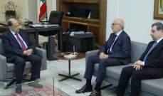 الرئيس عون استقبل وزير التربية أكرم شهيب ووزير الصناعة وائل أبو فاعور