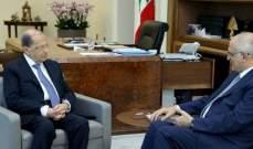 وزير المال بعد لقاء عون: التقارير الدولية تعكس استقرارا عاما رغم الصعوبات