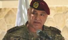قائد الجيش: لن نرضى المس بحقوق ضباطنا وجنودنا ومعنوياتهم أهم من أي راتب